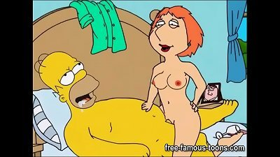 Simpsons and Griffins swingers sex