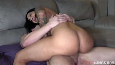 slutty wife Gets Caught ravaging Another man When hubby Comes Home