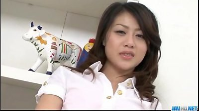 Hina Aisawa goes nasty on a juicy cock in hardcore