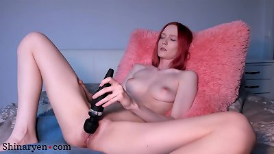 Babe Masturbate Pussy Vibrator and Squirting Orgasm - Shinaryen