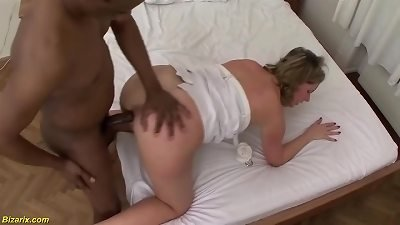 moms first interracial fist and fuck experience